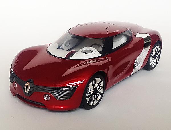 renault concept car 1 18. Black Bedroom Furniture Sets. Home Design Ideas
